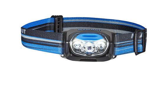Mammut T-Peak hoofdlamp grijs/blauw